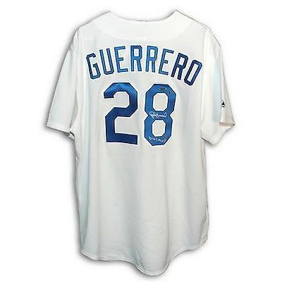 【おまけ付】 野球 MLB アメリカン ベースボール ウェア ユニフォーム マジェスティック Pedro Guerrero Autographed Majestic Jersey
