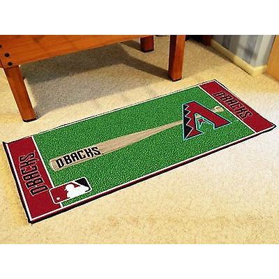 上質で快適 野球 MLB アメリカン MLB ベースボール ウェア ユニフォーム ユニフォーム ファンマット Arizona Area Diamondbacks Area Rug Baseball Runner Mat, BIN-1 LIMITED:2a41258b --- airmodconsu.dominiotemporario.com