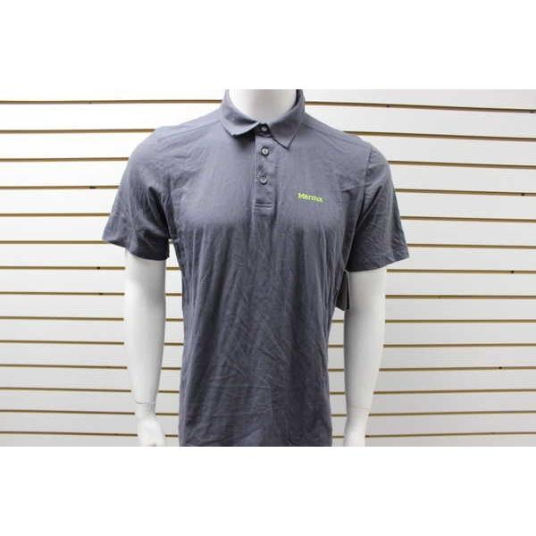 【正規品質保証】 アスレチック ウェア Shirt ブランド マーモット メンズ Marmot 半袖 Reyes Polo 半袖 Shirt スチール Onyx ブランド, Smileまーけっと:7637d339 --- airmodconsu.dominiotemporario.com
