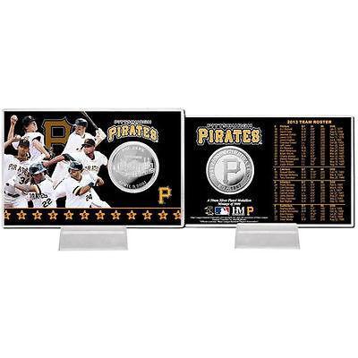 ハイランドミント アメリカ USA メジャー リーグ 全米 野球 MLB Pittsburgh Pirates 2013 チーム コイン Card