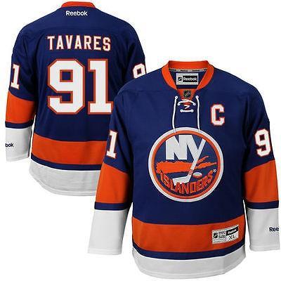 【アウトレット☆送料無料】 リーボック アメリカ USA カレッジ 全米 リーグ ホッケー NHL Reebok John Tavares New York Islanders ロイヤル Premier ジャージ, Lamoderato生活雑貨とマットの店 d4bdef11