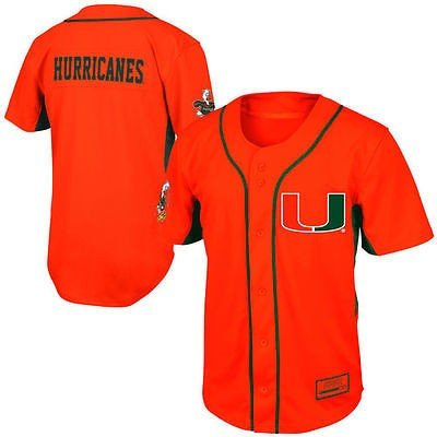 コロシアム アメリカ USA カレッジ 全米 リーグ NCAA Miami Hurricanes ユース Fielder ベースボール ジャージ オレンジ