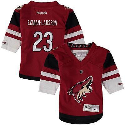リーボック アメリカ USA カレッジ 全米 リーグ ホッケー NHL Reebok オリーブr Ekman Larsson Arizona Coyotes Infant Home Replica ジャージ