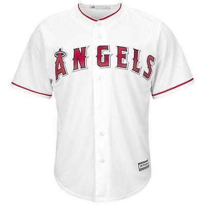 アメリカ USA メジャー リーグ 全米 野球 MLB Los エンジェルes エンジェルs of Anaheim ユース ホワイト Official Cool Base ジャージ