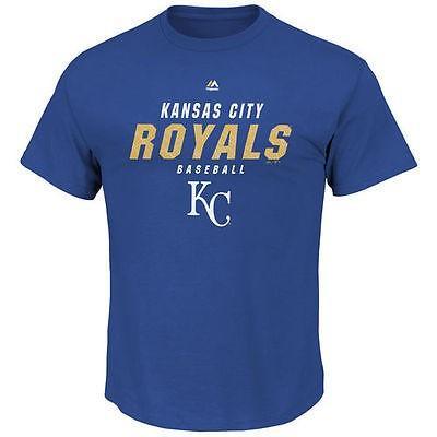 マジェスティック アメリカ USA メジャー リーグ 全米 野球 MLB Majestic Kansas City ロイヤルs ロイヤル ビッグ テール All The Way Tシャツ