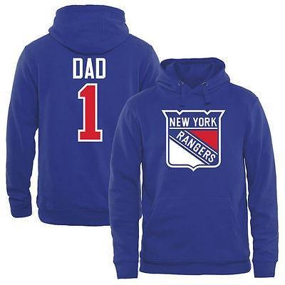 2019年最新入荷 ファナティックス アイスホッケー NHL Royal アメリカ USA アイスホッケー 全米 ナショナルリーグ Number New York Rangers Royal Number One Dad プルオーバーパーカー, メタルアーツ:2d644b2c --- airmodconsu.dominiotemporario.com