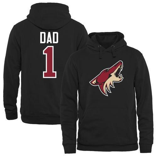 お歳暮 ファナティックス ブラック アイスホッケー NHL アメリカ USA NHL 全米 ナショナルリーグ Arizona Coyotes アメリカ ブラック Number One Dad プルオーバーパーカー, ニューズ タイヤ&ホイールズ:f14d1141 --- airmodconsu.dominiotemporario.com