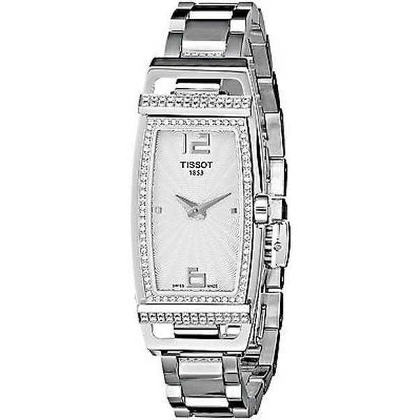 100%品質 腕時計 スチール ティソット Tissot レディース ステンレス T0373091103701 'My T Tonneau' ダイヤモンド T0373091103701 ステンレス スチール 腕時計, 杉養蜂園:00856dc4 --- airmodconsu.dominiotemporario.com
