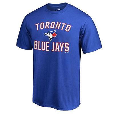 ファナティックス ブランディッド ベースボール MLB 野球 アメリカ USA 全米 Toronto ブルー Jays Royal Victory Arch Tシャツ