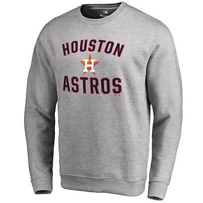 ファナティックス ブランディッド ベースボール MLB 野球 アメリカ USA 全米 Houston Astros Ash Victory Arch プルオーバースゥエットシャツ
