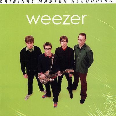 アメリカ人気キャラクター レコード 海外セレクション Weezer - 緑 Album LP 180g Vinyl MFSL NEW