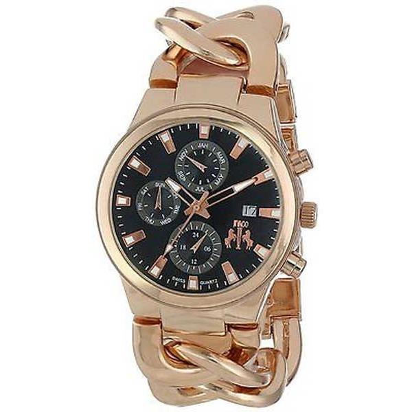 【限定製作】 腕時計 ジバゴ Jivago レディース JV1223 'Lev' マルチファンクション ローズトーン ステンレス スチール 腕時計, オーダー収納スタイル 2c96109a