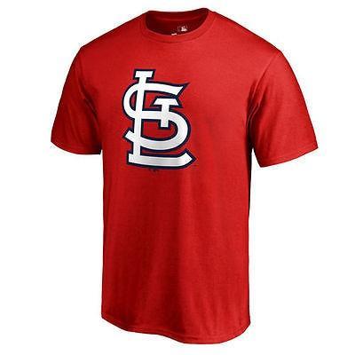 ファナティックス ブランディッド ベースボール MLB 野球 アメリカ USA 全米 St. Louis Cardinals レッド Team カラー Primary Logo 2 Tシャツ