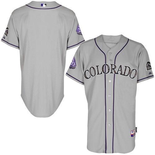 最新のデザイン マジェスティック ベースボール MLB 野球 アメリカ メジャー 全米 Majestic コロラド Rockies グレー ファッション オーセンティック USMC Team Jersey, Shino Eclat(シノエクラ) 02935d4c