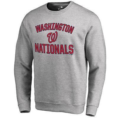 ファナティックスブランディッド ベースボール MLB 野球 アメリカ メジャー 全米 Washington Nationals Ash Victory Arch プルオーバースゥエットシャツ