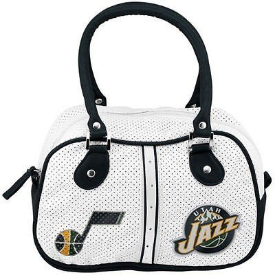 コンセプトワン バスケットボール NBA アメリカ USA 全米 Utah Jazz Ethel Bowler Purse - ホワイト