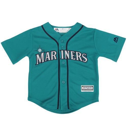 ベースボール MLB 野球 アメリカ USA メジャー マジェスティック Majestic Seattle Mariners Toddler Northwest 緑 Official Cool Base Jersey