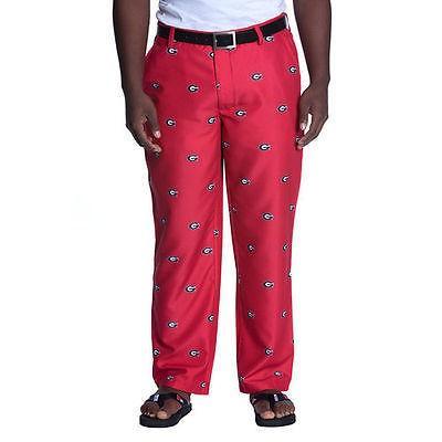 カレッジ NCAA 大学 アメリカ スポーツ USA 海外セレクション Georgia Bulldogs 赤 Allover Print Pants