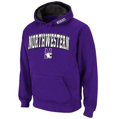 カレッジ NCAA 大学 アメリカ スポーツ USA スタジアムアスレチック Stadium Athletic Northwestern Wildcats 紫の Arch & Logo Pullover Hoodie