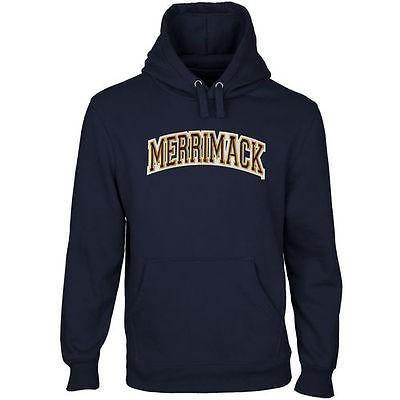 【2018A/W新作★送料無料】 カレッジ NCAA アメリカ ブルー Merrimack USA 大学 スポーツ ファナティックス ブランデッド - Merrimack College Warriors Arch Name プルオーバーパーカー - ネイビー ブルー, かいごや.コム:6ac86c77 --- airmodconsu.dominiotemporario.com