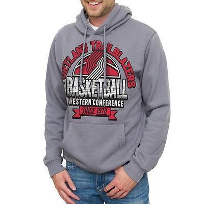 バスケットボール NBA メジャー USA 全米 アメリカ ジャンクフード Portland Trail Blazers スプリング Hits プルオーバーパーカー - グレー