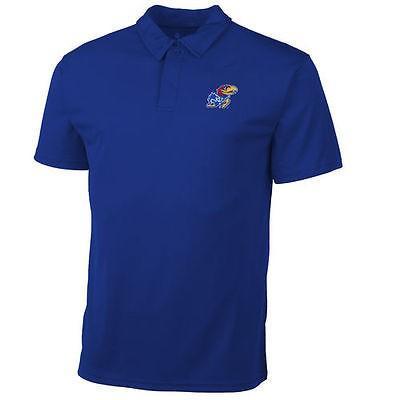 カレッジ NCAAKansas Jayhawks Youth Royal Solid Primary Logo Hit Polo