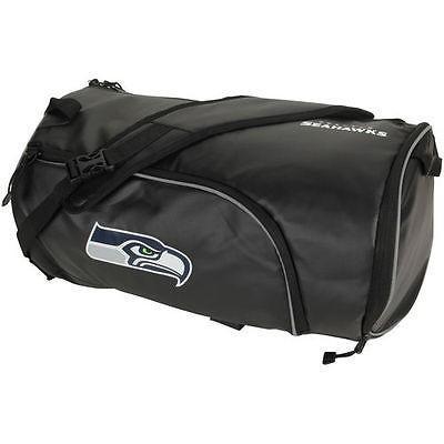 フットボール NFL USA アメリカ The Northwest Company Seattle Seahawks ブラック Squadron Duffel バッグ