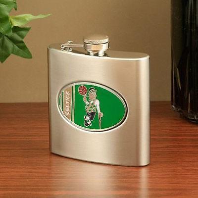 バスケットボール NBA USA アメリカ Boston Celtics ステンレス スチール Flask