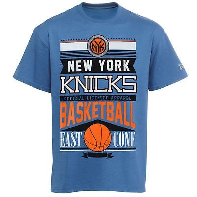 バスケットボール NBA USA アメリカ New York Knicks ユース Rafters Tシャツ Royal ブルー