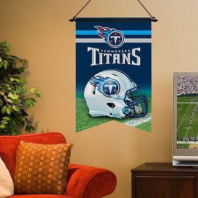 フットボール NFL USA アメリカ WinCraft Tennessee Titans 17 x 26 Premium Quality One Sided Banner フラッグ