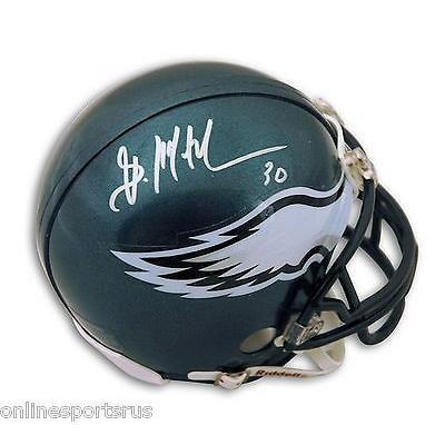 春早割 フットボール NFLアメリカン ウェア ユニフォーム リデル Brian Mitchell Autographed Mini Helmet Philadelphia Eagles, 砂利エクステリアGreenArts d4aa8422