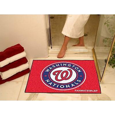 野球 MLB アメリカン ベースボール ウェア ユニフォーム ファンマット Washington Nationals Bath Mat Shower Area Rug