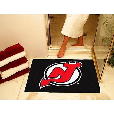 ホッケー NHL アメリカン ウェア ユニフォーム ファンマット New Jersey Devils Bath Area Rug Shower Mat