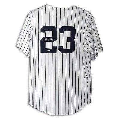 安い 野球 MLB アメリカン ベースボール ウェア ユニフォーム Don Mattingly Autographed Pinstripe Jersey New York Yankees, 金谷ホテルベーカリー 428e4c38
