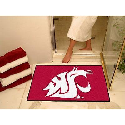 カレッジ スポーツ ユニフォーム NCAA ファンマット Washington State Cougars Bath Mat Shower Area Rug