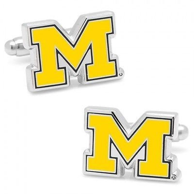 人気新品入荷 カレッジ スポーツ ユニフォーム NCAA カフリンクス University of of Michigan Michigan Wolverines ユニフォーム Cufflinks Officially Licensed, 熱田区:b962844e --- airmodconsu.dominiotemporario.com