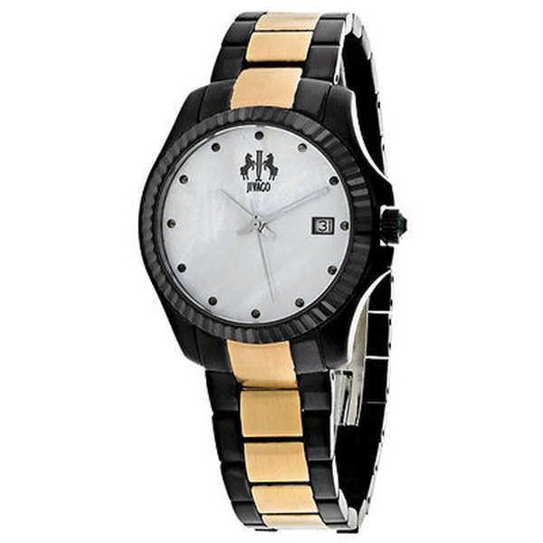 【18%OFF】 腕時計 ジバゴ Jivago レディース JV3211T 'Jolie' ツートン ステンレス スチール 腕時計, 出水郡 9f86094b