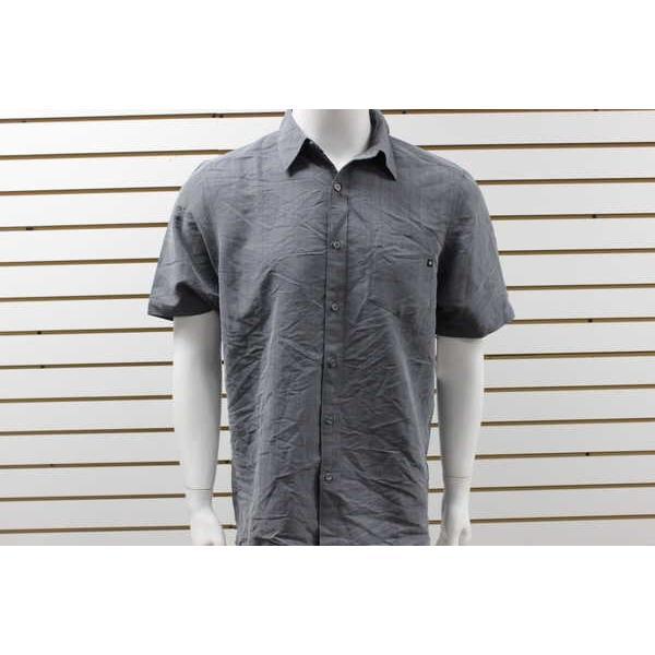 アスレチック ウェア マーモット メンズ Marmot El Dorado 半袖 Button-Up Solid Shirt Cinder 62620
