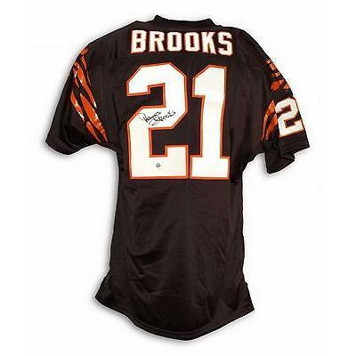 フットボール NFLアメリカン ウェア ユニフォーム アスレティック ニット James Brooks Autographed Throwback Jersey Cinncinati Bengals
