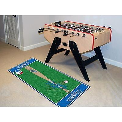 野球 MLB アメリカン ベースボール ウェア ユニフォーム ファンマット Los Angeles Dodgers Area Rug Runner Mat