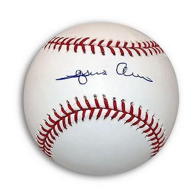 欲しいの 野球 MLB Autographed アメリカン ベースボール アメリカン ウェア ウェア ユニフォーム ローリングス Autographed Jesus Alou Official Baseball, オカモク:d276183e --- airmodconsu.dominiotemporario.com