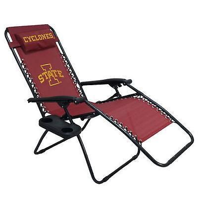 カレッジ スポーツ ユニフォーム NCAA Iowa State Cyclones Zero Gravity Chair Recliner