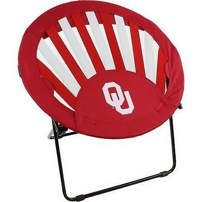 カレッジ スポーツ ユニフォーム NCAA Oklahoma Sooners Rising Sun Bungee Chair
