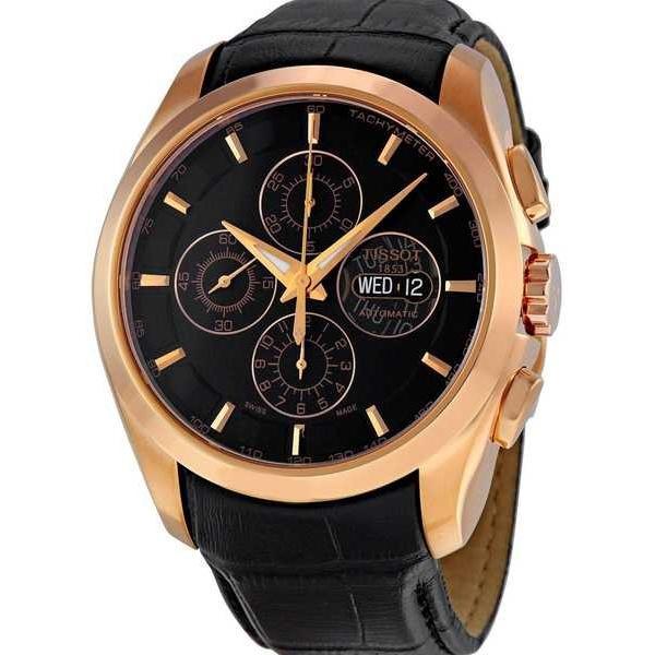 【限定製作】 腕時計 ティソット Tissot メンズ T0356143605100 'Couturier Valjoux' オートマチック レザー 腕時計, 新鮮雑貨マーケット f2401d20