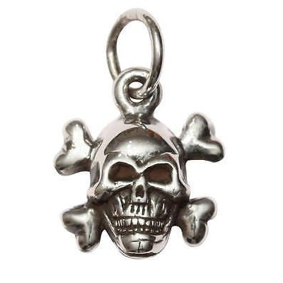 驚きの値段 ネックレス & ペンダント ファムメタルジュエリー Femme Metale .925 Sterling Silver Tiny Crossbones Necklace Skull, cos-kingdom 4f085b7b
