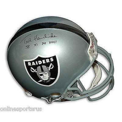 フットボール NFLアメリカン ウェア ユニフォーム リデル Ted Hendricks Autographed Proline Helmet