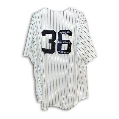 野球 MLB アメリカン ベースボール ウェア ユニフォーム マジェスティック David Cone Autographed Jersey Yankees Majestic