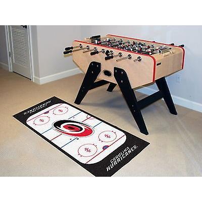 ホッケー NHL アメリカン ウェア ユニフォーム ファンマット Carolina Hurricanes Runner Mat Area Rug