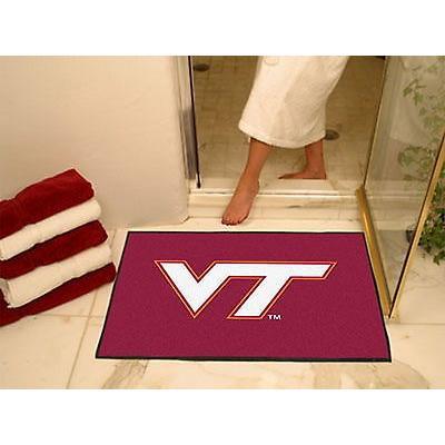 カレッジ スポーツ ユニフォーム NCAA ファンマット Virginia Tech Hokies Bath Mat Shower Area Rug