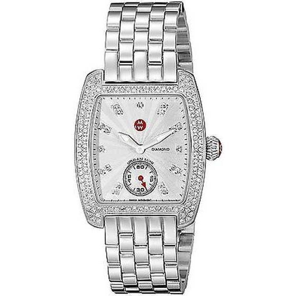 値段が激安 腕時計 MWW02A000508 ミッシェル Michele レディース スチール MWW02A000508 'Urban 腕時計 ミニ' ダイヤモンド ステンレス スチール 腕時計, ホットとクールのお店 さきっちょ:31e93ca4 --- airmodconsu.dominiotemporario.com